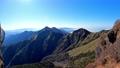 石鎚山山頂付近から二の森(西方向)を2020年11月撮影 71677018