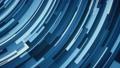 Geometric high tech flat curved blue 4k background loop 71708345