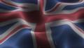 Closeup of a digital waving english flag looping 71708777