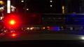 Police patrol light in the street 71905753