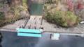 Kyoto Ono Dam Park Autumn Leaves Maple Aerial Wind Park 4K Rainbow Lake 71993067