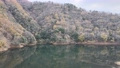 Kyoto Ono Dam Park Autumn Leaves Maple Aerial Wind Park 4K Rainbow Lake 72022195