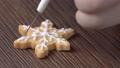 聖誕節 餅乾 雪花 Christmas gingerbread cookie ジンジャークッキー 72134100