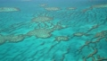 Coral Reef view from a flying aircraft. Slow motion 72173522