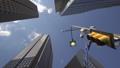 dallas downtown traffic light buildings 72270947