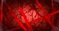 Red Biological Loop Background. 72372389