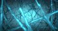 Blue Biological Loop Background. 72372581