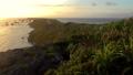 日出後的早晨的陽光照耀的宮古島上的東平谷長崎風景 72432233