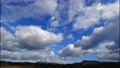 High-quality 4K time-lapse blue sky and cloud flow perming M20122001 Video material 72697006
