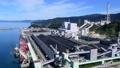 【敦賀火力発電所とセメント工場】 (time lapse) 福井県敦賀市泉 72837503