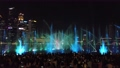 People Enjoying Laser Show at Marina Bay of Singapore, one of the most popular tourists attraction in city at Night 72905050