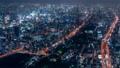 大阪 夜景 タイムラプス あべのハルカス 72961038