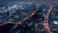 大阪 夜景 タイムラプス あべのハルカス 72961040