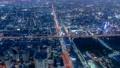 大阪 夜景 タイムラプス あべのハルカス 72961046