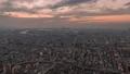 大阪 タイムラプス 夕焼け あべのハルカス 72961048