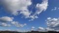 高画質4Kタイムラプス青空と雲の流れpermingM210101映像素材 73013747