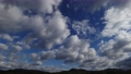 High-quality 4K time-lapse blue sky and cloud flow perming M20123101 Video material 73013749