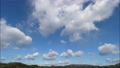 High-quality 4K time-lapse blue sky and cloud flow perming 4K210101021 Video material 73013751