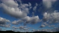 High-quality 4K time-lapse blue sky and cloud flow perming4K201231011 Video material 73013757