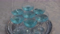 칵테일 술 파티 알코올 파란색 유리 칵테일 글라스 73089233