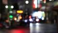 Tokyo road at night Shinjuku-ku with blur 73141142