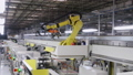 Robotic equipment. Automated machine. Industrial factory machinery. 73207102