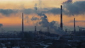 Oil refinery and Oil industry at sunset 73294771