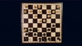 Timelapse top view chess game 73667109