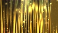 Gold curtain and sparkles, computer generated. 3d rendering of luxury art background 73742024
