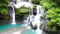 【대 轟の滝] (슬로우 모션) 도쿠시마 현 나카 군 나카 정 沢谷 73767245