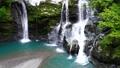 【대 轟の滝] (슬로우 모션) 도쿠시마 현 나카 군 나카 정 沢谷 73767248