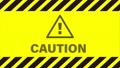 循環警告提示牌和路障膠帶錄像資料 73818393