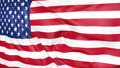 Flag of the United States of America waving 73843340