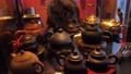 Handmade Teapot exhibition. Tea ceremony 73944401