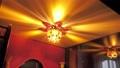 Tea ceremony lamp in lotus style 73944405