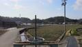 Osaka Prefecture Takatsuki City Aerial 4K Sluice Gate 73993525