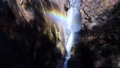 [Yamanashi Prefecture] Slow motion of Shosenkyo and Senga Falls with a rainbow 74005483