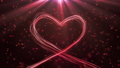 Big heart for Valentines Day, Mothers Day or wedding events background 74079508