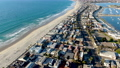 Aerial view of Mission Bay and Beaches in San Diego, California. USA. 74125829