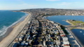 Aerial view of Mission Bay and Beaches in San Diego, California. USA. 74125830