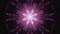 3D tunnel with flickering pink lights 74225405