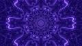 3D dynamic ornament of violet color 74225417