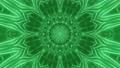 3D bright green dynamic mandala 74225419