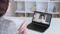 video call web communication asian male ceo laptop 74227464