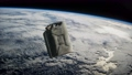 metal vintage and dirty jerrycan on Earth orbit 74298642