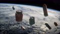 pollution of the atmosphere of the planet Earth and space 74300212