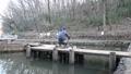 A man fishing at Nokitayama Park 74339150