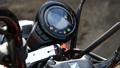 Motorcycle engine start 74342783