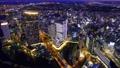 Yokohama Time Lapse Cityscape in the direction of Sakuragicho Kannai Motomachi at dusk Zoom out 74398011