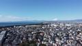 Shonan aerial view Tsujido Coast Mt. Fuji Fujisawa City, Kanagawa Prefecture 74445155